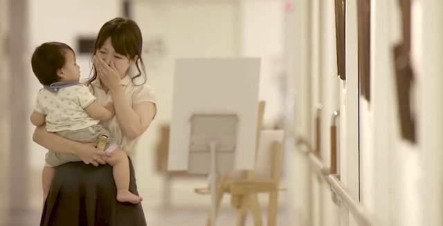Japán pampers reklám