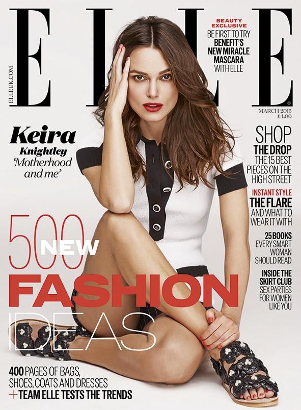 Keira Knightley-Elle-2015 március